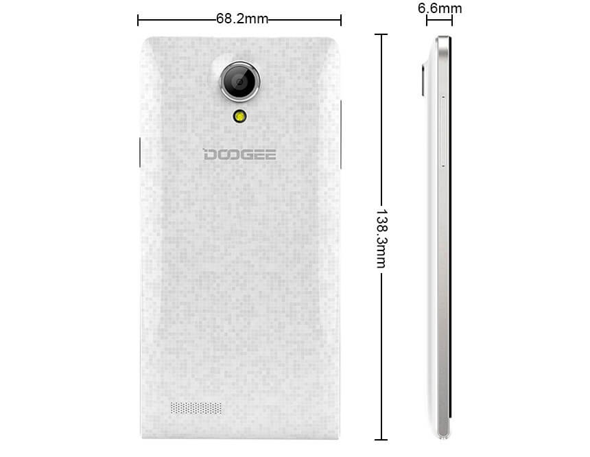 Doogee DG350 specifications