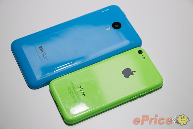 Meizu M1 Note vs. iPhone 5c