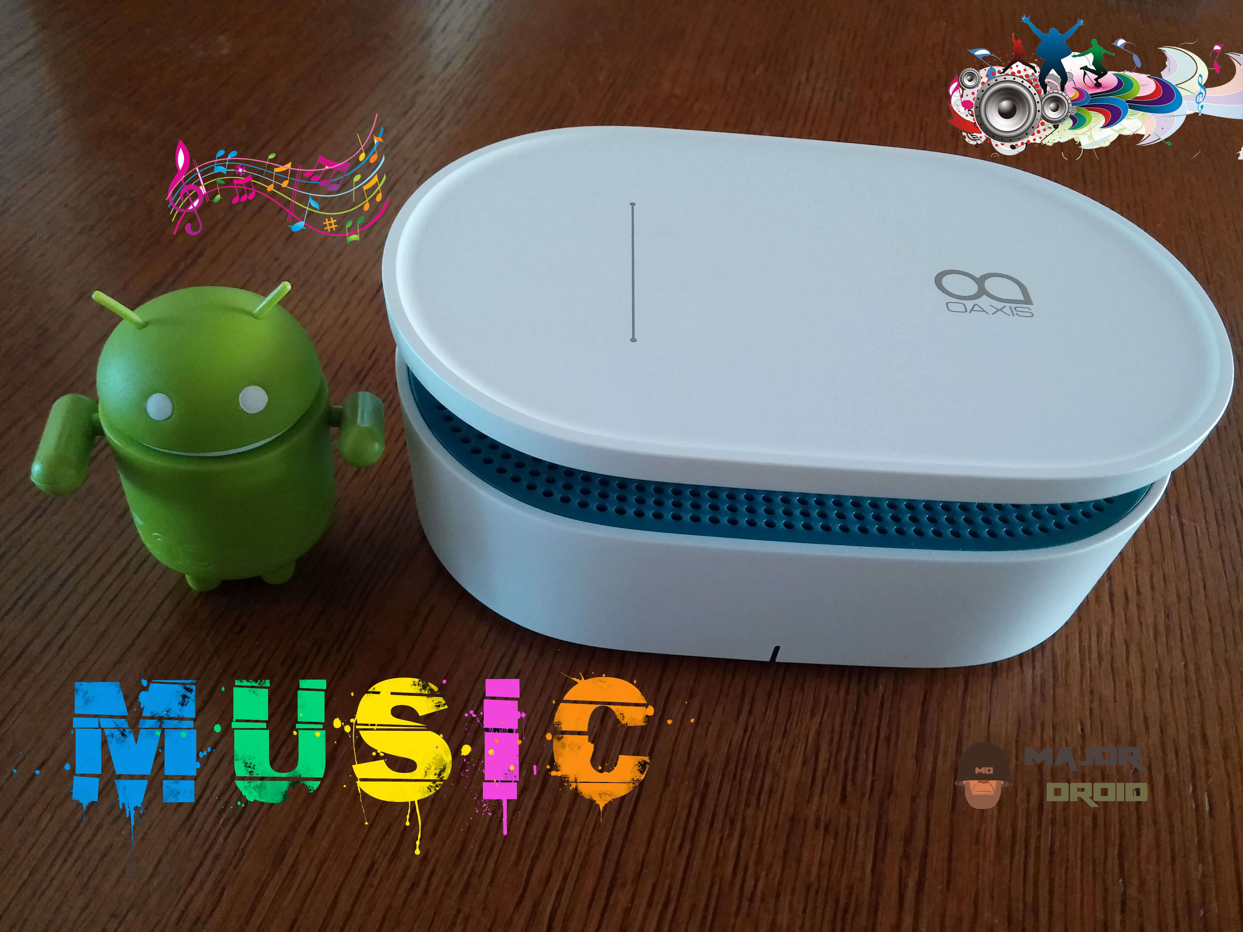The Oaxis Bento Magnetic Induction Audio Speaker