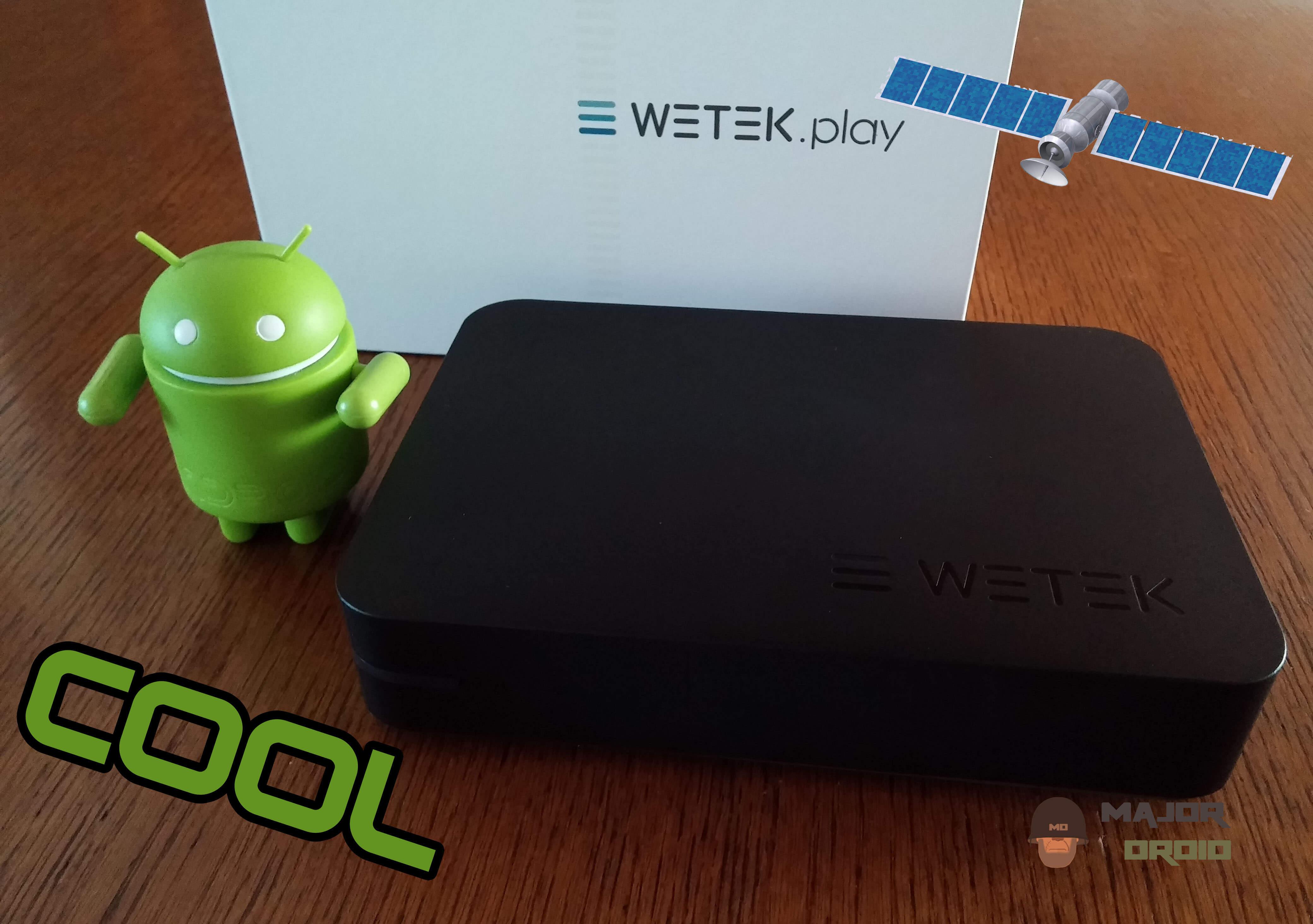 WeTek Play Android TV DVB-S2 Satellite Receiver