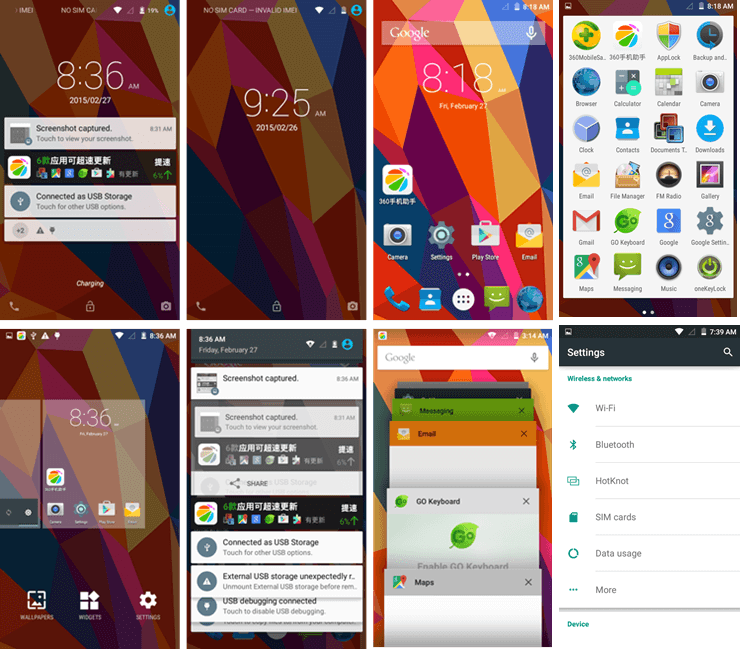dg700 Android 5 Lollipop