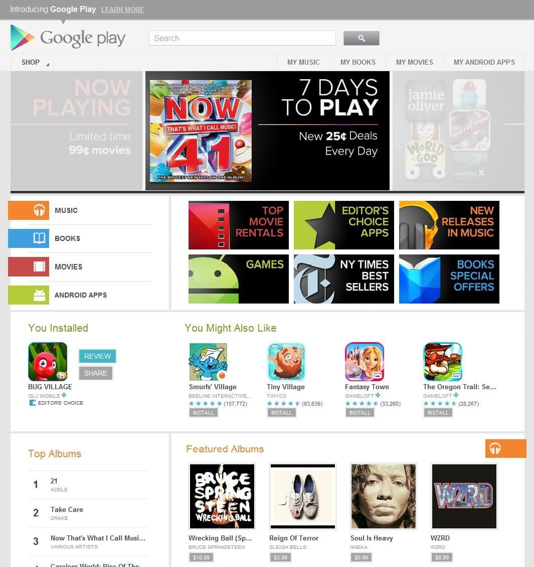 TCL S720 Google Play error