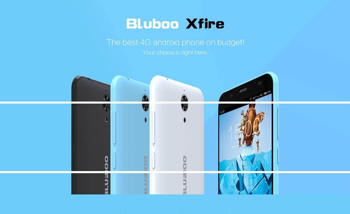 Bluboo Xfire Aims To Be The Cheapest Mt6735 Lte Phone In